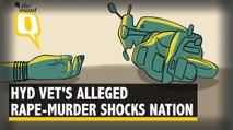 Police Investigate Hyd Vet's Alleged Rape-Murder, People Demand Justice