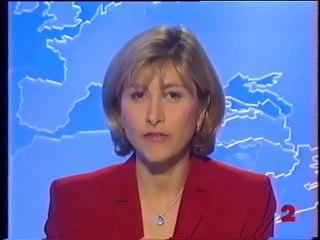 """France 2 - 9 Novembre 1999 - Teasers, pubs, JT Nuit (Florence Duprat), météo, début """"Ciné Club"""""""