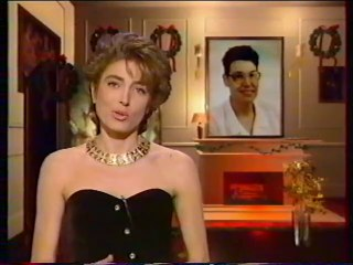 """Antenne 2 - 12 Décembre 1990 - Teasers, météo, pubs, """"Noël Surprise"""" (Marie-Ange Nardi)"""