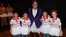 Elton John dons tutu for surprise Billy Elliot the Musical appearance in Australia