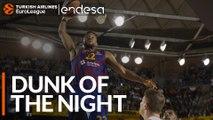 Endesa Dunk of the Night: Cory Higgins, FC Barcelona