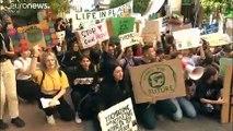 Weltweit koordinierte Klimaprosteste von Fridays for Future