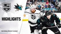 San Jose Sharks vs. Los Angeles Kings - Game Highlights