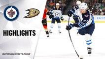 Anaheim Ducks vs. Winnipeg Jets - Game Highlights
