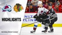 Chicago Blackhawks vs. Colorado Avalanche - Game Highlights