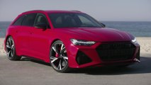 Audi RS 6 Exterior Design in Tango Red