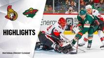 Minnesota Wild vs. Ottawa Senators - Game Highlights