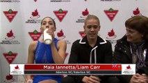 Junior Rhythm Dance - RINK B: 2020 Skate Canada Challenge / Défi Patinage Canada (7)