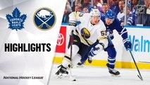 Buffalo Sabres vs. Toronto Maple Leafs - Game Highlights