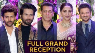 Bollywood STARS At Sooraj Barjatya Son Devaansh Barjatya Wedding Reception | UNCUT | Full RED Carpet