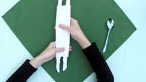 Napkin Folding 6 Ways Folding Napkins on Babyshower