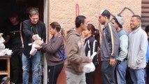 Akt der Menschlichkeit: Pizza für Bedürftige