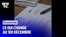 Gaz, impôt...Ce qui change au 1er décembre