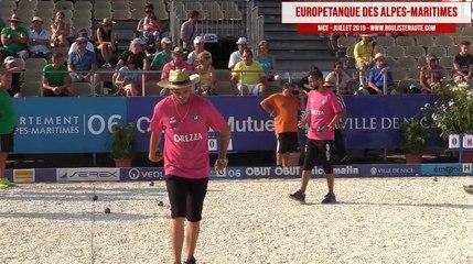 32ème BONETTO vs ITALIE : Europétanque des Alpes-Maritimes 2019