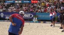 Demi-finale ROCHER vs LAURENTI : Europétanque des Alpes-Maritimes 2019