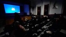 Sinema salonları olmayan Ardahanlılara film keyfini gençler yaşatıyor