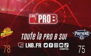 PRO B : Vichy-Clermont vs Poitiers (J8)