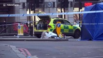 City of London deserted the morning after deadly terror attack