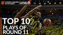 Turkish Airlines EuroLeague Regular Season Round 11 Top 10 Plays