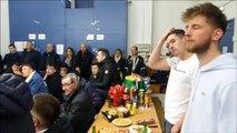 Remise de maillots Coupe de France