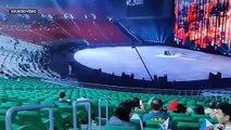Scenes from the Philippine Arena before the start of 2019 SEA Games opening