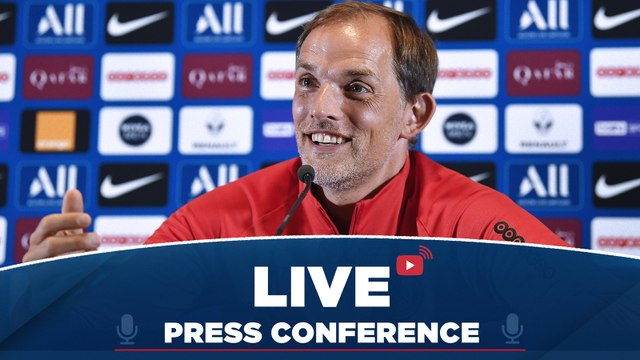Replay : Conférence de presse de Thomas Tuchel avant AS Monaco - Paris Saint-Germain