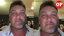 Jacques Kallis Shaves Off Half Of His Face.