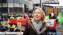 Lyon : le collectif Marchons enfants mobilisé contre la PMA pour toutes