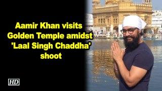 Aamir Khan visits Golden Temple amidst Laal Singh Chaddha shoot