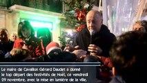 Cavaillon : top départ des festivités de Noël avec la mise en lumière de la ville