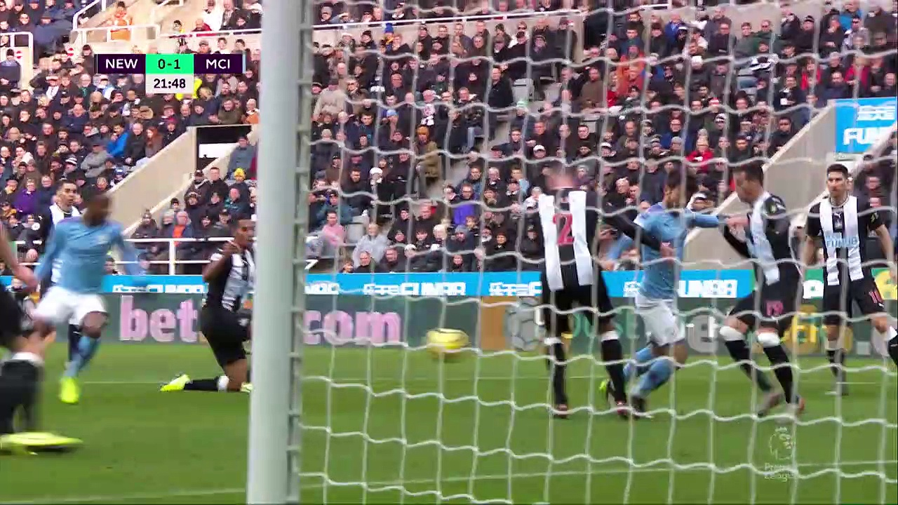Newcastle United - Manchester City (2-2) - Maç Özeti - Premier League 2019/20