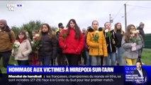 Les habitants de Mirepoix-sur-Tarn ont rendu hommage aux victimes de l'effondrement du pont