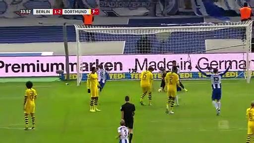 Hertha Berlin - Borussia Dortmund (1-2) - Maç Özeti - Bundesliga 2019/20
