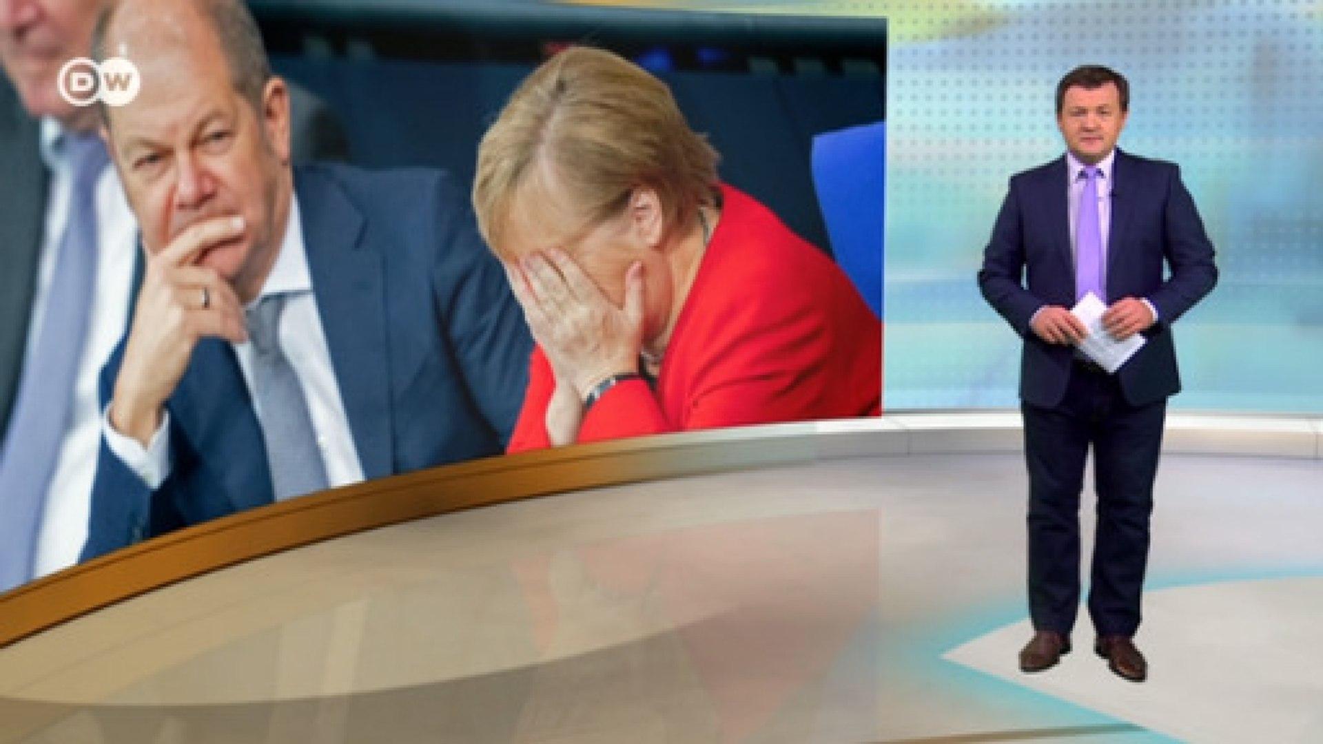 Меркель под ударом: правящей коалиции пророчат развал. DW-Новости (02.12.2019)