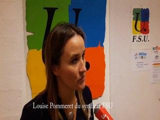 video louise Pommeret FSU
