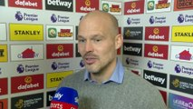 Freddie Ljungberg reacts to his first game in charge as caretaker manager | Norwich 2-2 Arsenal