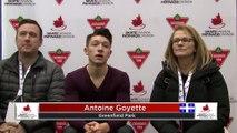Junior Men Short - RINK B: 2020 Skate Canada Challenge / Défi Patinage Canada (8)