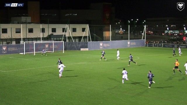 N3 : Le but victorieux de Précieux Nkaba à la dernière seconde lors de SMCaen 1-0 AF Virois