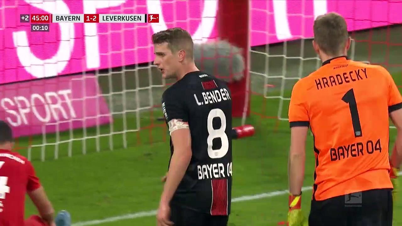 Bayern Münih - Bayer Leverkusen (1-2) - Maç Özeti - Bundesliga 2019/20