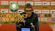 Conférence de presse AS Nancy Lorraine - Paris FC (2-0) : Jean-Louis GARCIA (ASNL) - Mecha BAZDAREVIC (PFC) - 2019/2020