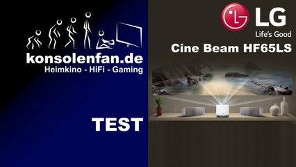 Test: LG Cine Beam HF65LS