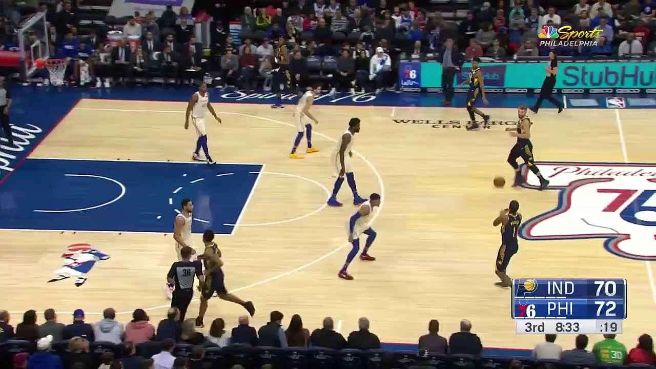 Indiana Pacers 116 - 119 Philadelphia 76ers