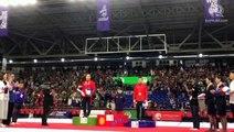 Carlos Yulo wins gold in men's gymnastics artistic all-around