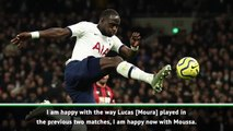 Mourinho sang along with Spurs fans' Sissoko song