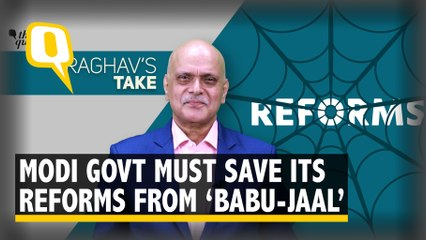 Terrific Reforms by Modi Govt, But Must Stay Wary of 'BABU-JAAL'