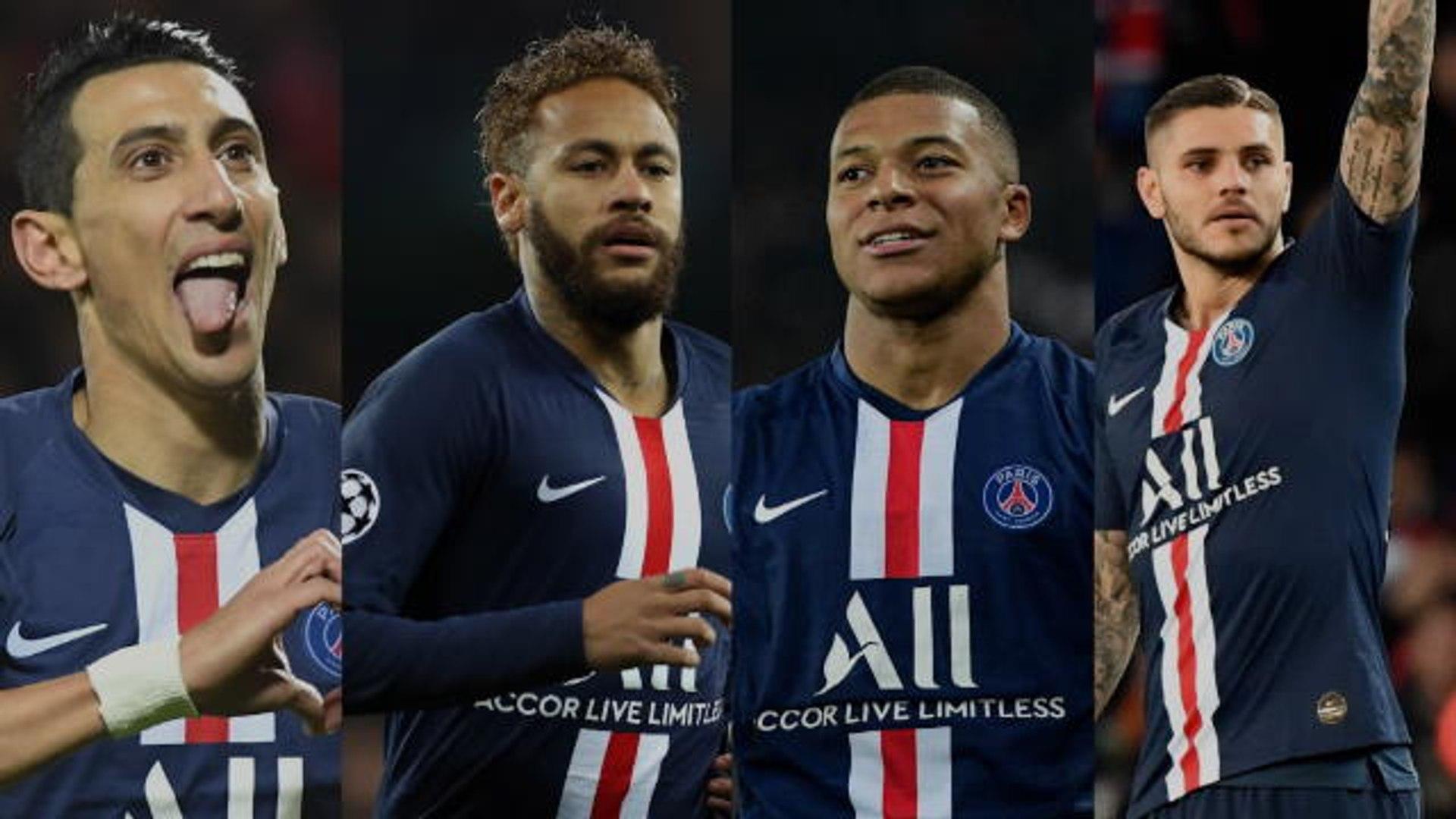 Ligue 1 Di Maria, Neymar, Mbappé, Icardi: les 4