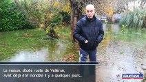 L'Isle-sur-la-Sorgue : la maison de sa mère inondée