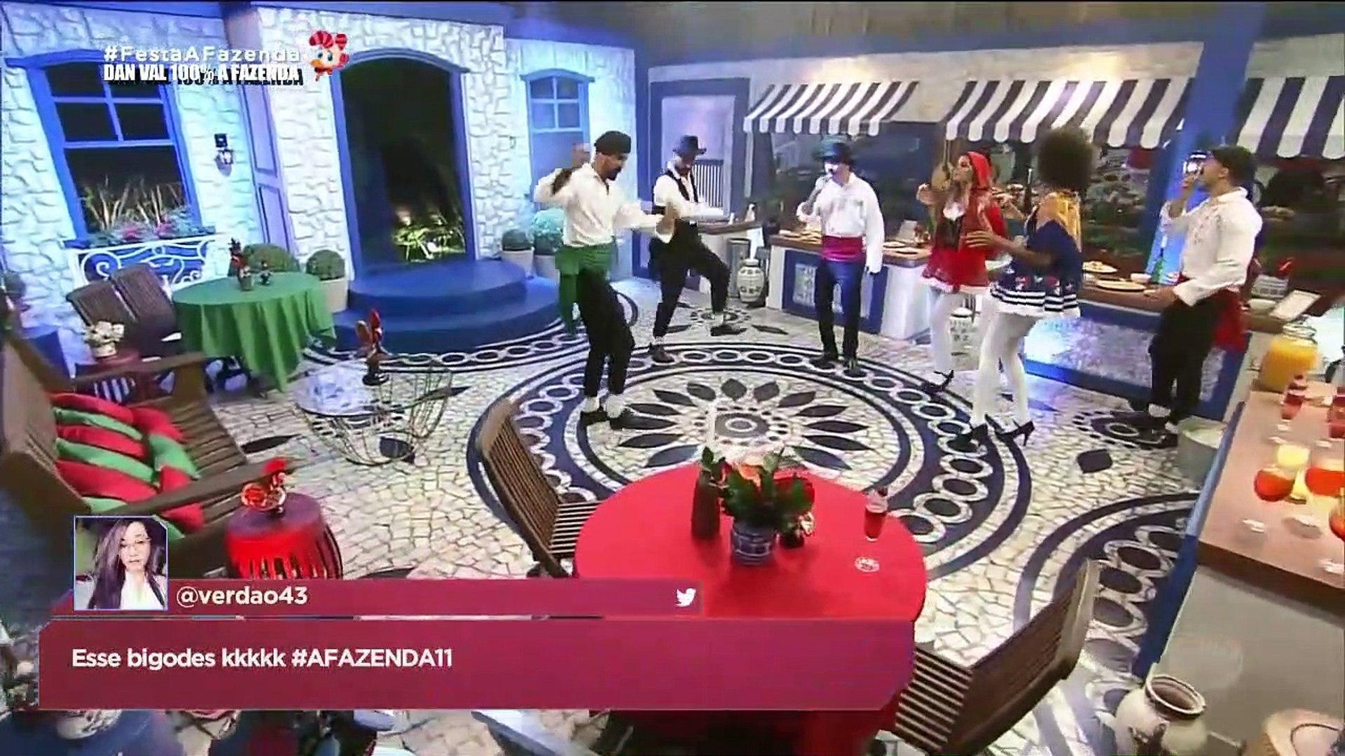 A Fazenda 11 - Festa Portuguesa - Episódio 75 - Completo - 30/11/2019