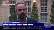 """Édouard Philippe: """"L'objectif de cette réunion est de rappeler les fondements de la réforme des retraites et voir comment l'améliorer"""""""