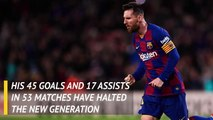 Messi favourite for sixth Ballon d'Or
